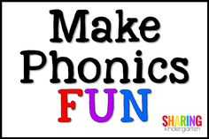 Make Phonics FUN