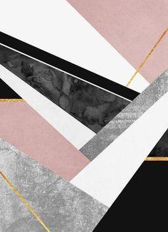 Lines & Layers - Elisabeth Fredriksson - Canvas Print
