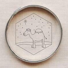 pattern // wandering camel