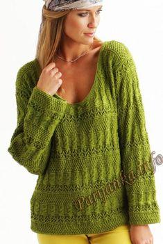 Пуловер (ж) 11*20 Cheval Blanc №4659
