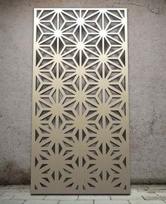 Miles and Lincoln - the UK's leading designer of laser cut screens for decorative interior panels, external architectural cladding, balustrades and ceilings An ombré design Laser Cut Screens, Laser Cut Panels, Laser Cut Metal, Metal Panels, Stone Panels, Decorative Metal Screen, Grill Design, Plasma Cutting, Door Design