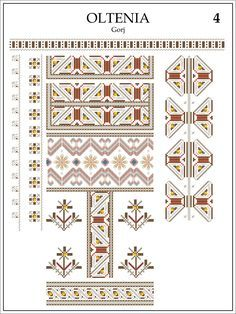 Embroidery Patterns, Cross Stitch Patterns, Folk Art, Jewerly, Decorative Boxes, Symbols, Quilts, Blanket, Album