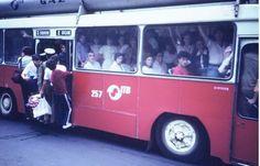 GALERIE FOTO. Transportul public în perioada comunistă