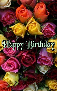 Happy Birthday Greetings Friends, Happy Birthday Wishes Cake, Birthday Wishes Flowers, Happy Birthday Cake Images, Birthday Cheers, Happy Birthday Girls, Birthday Blessings, Happy Birthday Messages, Happy Birthday Quotes