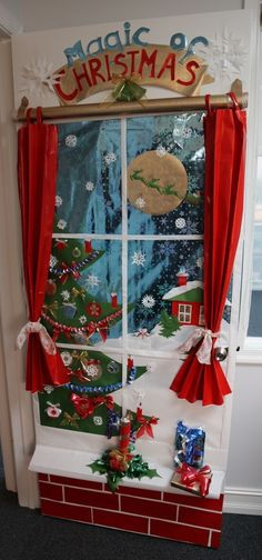 Holiday Door Decoration Contest - 1st Place - Accounting Department.