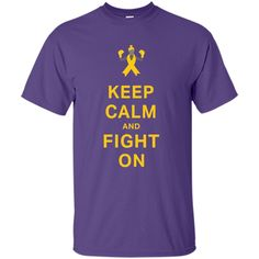Childhood Cancer Awareness Keep Calm and Fight On