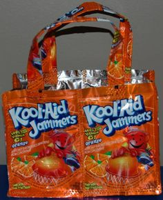 Juice Pouch Purses, Change Pouches, Wallets, and more at crystalscraftcreations.com
