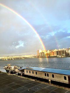 Double Rainbow Veemkade Amsterdam