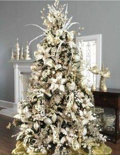 cute and chic Christmas tree decor ideas