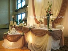 Luxurious and Elegant Wedding Reception Decoration 3