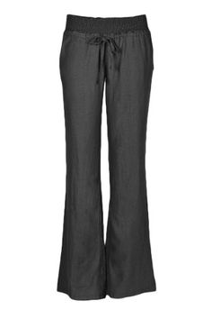Beachcoco Women's Comfortable Slim Fit Flared Linen Pants (S, Black) Beachcoco http://www.amazon.com/dp/B00ISNHMHK/ref=cm_sw_r_pi_dp_0xK8tb0A27436