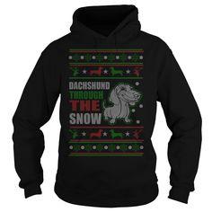DACHSHUND DOG CHRISTMAS UGLY SWEATER