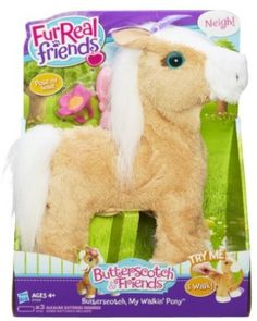 """FurReal Friends Butterscotch, My Walkin' Pony Pet - Hasbro - Toys """"R"""" Us Little Live Pets, Little Girl Toys, Toys For Girls, Little Girls, Shopkins, Toddler Toys, Kids Toys, All Monster High Dolls, Friend Poses"""