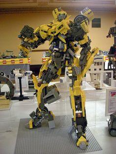 Lego Bumblebee. Awesome sauce.