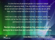 Puzzle Pieces, Emma Watson, Compassion, Equality, Ms, Thoughts, Social Equality, Ideas