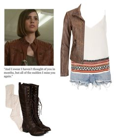 Malia Tate - tw / teen wolf by shadyannon on Polyvore featuring polyvore fashion style River Island maurices Breckelle's Ksubi clothing
