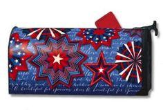 Celebrate America Magnetic Mailbox Cover - Amazon.com