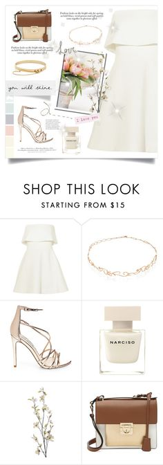 """FIFTY FIFTY #3"" by paradiselemonade ❤ liked on Polyvore featuring Elizabeth and James, Diane Kordas, Steve Madden, Narciso Rodriguez, Pier 1 Imports, H&M, Salvatore Ferragamo and Eddie Borgo"