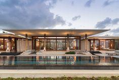 Tropical Architecture, Residential Architecture, Contemporary Architecture, Architecture Design, Contemporary Design, Boutique Interior, Clubhouse Design, Modern Villa Design, Resort Villa