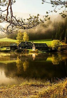 Steiermark, Austria/ magical © byBernhard Klestil #austria #styria #lake #visitaustria