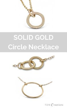Idée et inspiration Bijoux :   Image   Description   You will love these circle necklaces. Karma ring necklaces are great additions to your jewelry box. Wear them alone or layer them with other necklaces for a bolder look.