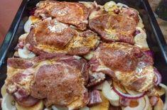 """Takiej karkówki jeszcze nie jedliście – """"Cygan w Rondlu"""" zachwyci nawet . No Salt Recipes, Pork Recipes, Easy Cooking, Cooking Recipes, Kebab, Czech Recipes, Hungarian Recipes, Pork Dishes, Food Design"""