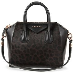 GIVENCHY Antigona small leopard-print tote (Chocolate
