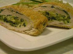 Fotorecept: Závitky z kuracieho mäsa plnené cuketou a mozarellou