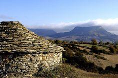 Grands Causses region (UNESCO World Heritage Site), France