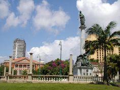 Praça da República.
