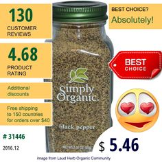 Simply Organic #SimplyOrganic #SpiceSeasoning