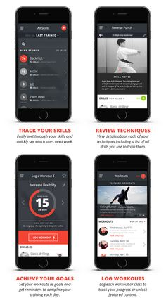 SKILLFUL—A martial arts training app by Perch Design Studio — Kickstarter