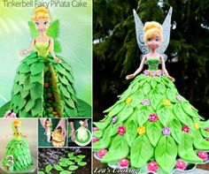 Tinkerbell Cake Topper Ideas Easy Video Instructions