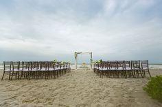 secluded island beach tent wedding sanibel