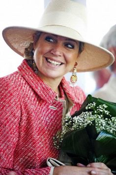 Queen Maxima of The Netherlands smiles during a visit to a Thomashuis (Thomashouse) in Houten, The Netherlands, 07 June 2013
