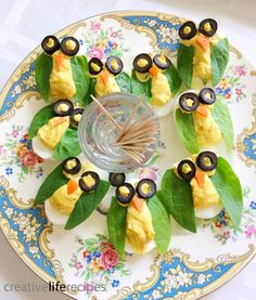 Owl Deviled Eggs, Owl Themed Birthday Party by Creative Life Recipes