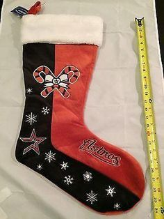 7cf8df1751b MLB Houston Astros Large Plush Christmas Stocking www.mancavesonline.com   mlbcom