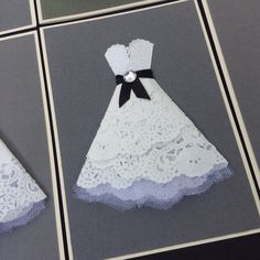 Handmade card. Konfirmations kort. Konfirmationkjole. Konfirmation. Made by Elmelund - DK