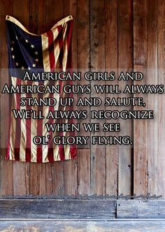 American Girls and American Guys Will Always Stand Up and Salute, We'll Always Recognize When We See Ole' Glory Flying - Courtesy of the Red, White, and Blue - Toby Keith Country Lyrics, Country Quotes, Country Songs, Our Country, Country Girls, Country Life, Texas Quotes, Country Men, Country Living