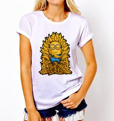 Minion Despicable Me Minion Game of Throne T Shirt Tee Unisex