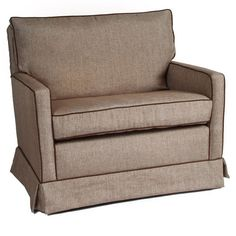 Mesa Chair and a Half Glider in Choice of Fabric - $968.00