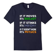 - 100% Cotton - Imported - Machine wash cold with like colors, dry low heat - Ideal for any science teacher or science student. This is the must have t-shirt! Perfect gift for birthdays, as back to sc