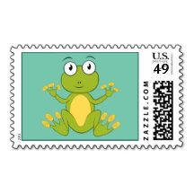 Animated Frog Stamp