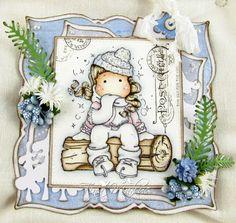 Winter Skates Tilda, Special stamp, Magnolia stamps