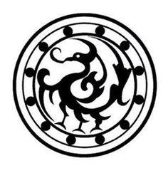 Korea Design, Korean Tattoos, Animal Symbolism, Chinese Patterns, Leather Carving, Scroll Saw, Chinese Art, Geometry, Tatoos