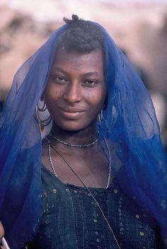 jeune femme Peul au Niger