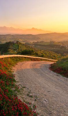 Countryside in Abruzzo, Italy