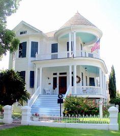 Cute victorian house.
