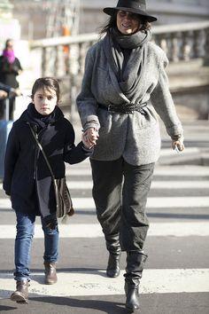 So I guess I want to dress like Emmanuelle Alt's daughter.