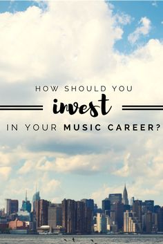 Learn what you should (and shouldn't!) spend your money on when you're first getting started as a singer-songwriter  | Modern Songstress Blog